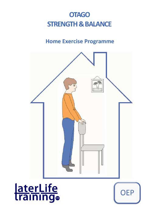 Home Exercise Booklets – Later Life Training